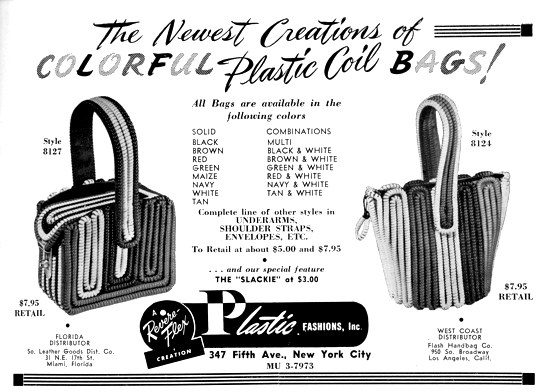 Telephone Cord Purses