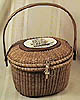 Rare handmade Nantucket Lightship Basket