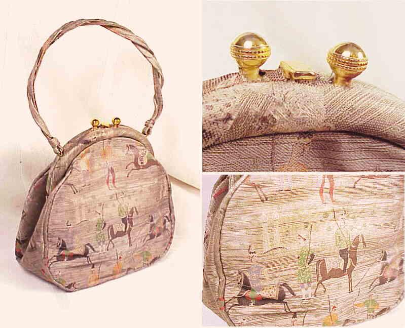 612043099cc8 FERRAGAMO 990842  Muted purple Ferragamo leather bag with narrow 40